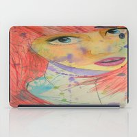 allison argent iPad Cases featuring Allison by Taylor Starnes