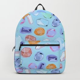 Rhinestones and crystals Backpack
