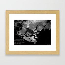 Maori Proverb Framed Art Print
