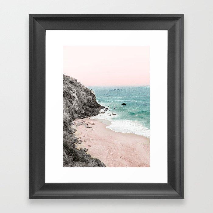Coast 5 Gerahmter Kunstdruck