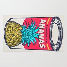 Condensed ananas Rug