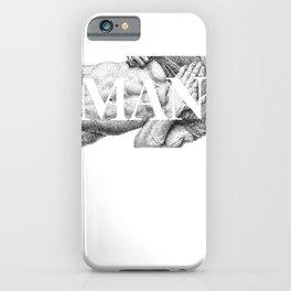 MAN - NOODDOODs  iPhone Case
