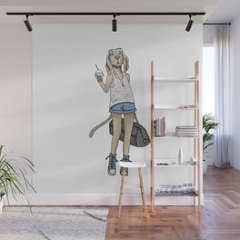 Maggie the Masterpiece Wall Mural