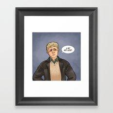 A bit not good... Framed Art Print