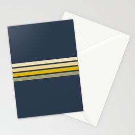 Gracia - Classic 60s Retro Stripes Stationery Cards
