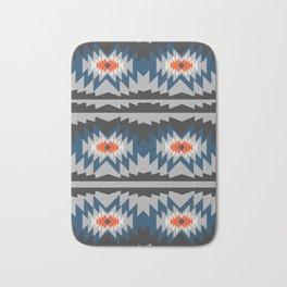 Wintry ethnic pattern Bath Mat