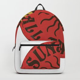 Hippie Sunshine All the Time Backpack