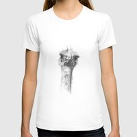 ostrich T-shirts featuring Ostrich by Signe