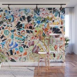 Mosaic of Barcelona VI Wall Mural