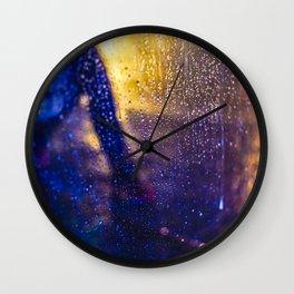 The rain city by Jean-François Dupuis Wall Clock