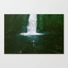 Wahclella Hiker Canvas Print