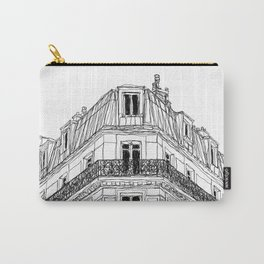 Parisian Facade Carry-All Pouch