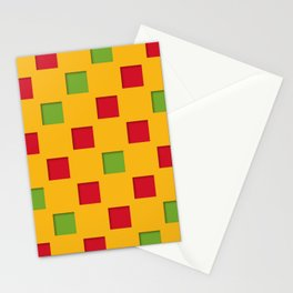 checkered pattern #17 Stationery Cards