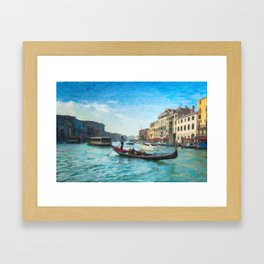 Grand Canal #2 Framed Art Print