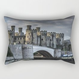 Conwy Castle, North Wales Rectangular Pillow