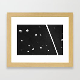 Solid and Void #1 Framed Art Print