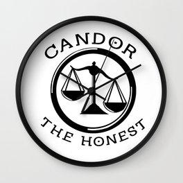 Divergent - Candor The Honest Wall Clock