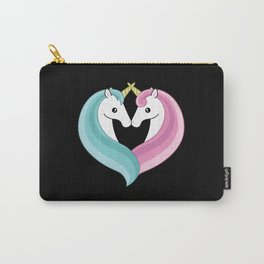 Unicorn heart Carry-All Pouch