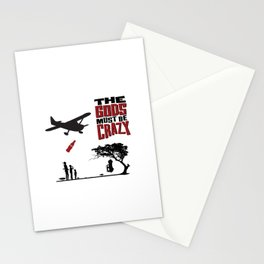 The Gods Must be Crazy Stationery Cards