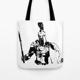 Battleborn, Spartan Warrior Tote Bag