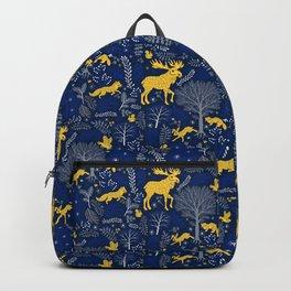 Blue Forest Backpack