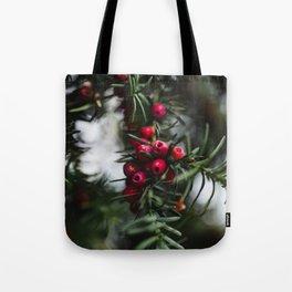 Norway berries Tote Bag