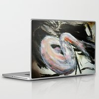 study Laptop & iPad Skins featuring Expressionism Female Study by James Peart