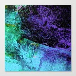 STORMY PURPLE VS BLACK v4-A Canvas Print