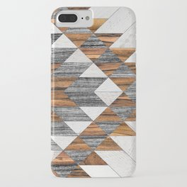 Urban Tribal Pattern 12 - Aztec - Wood iPhone Case