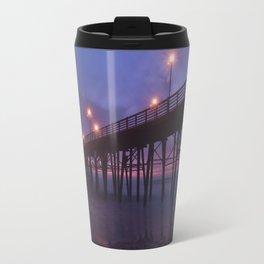 Oceanside Pier Sunset Travel Mug