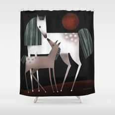 NUZZLE Shower Curtain