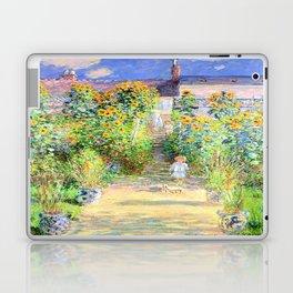 Monets Garden at Vetheuil Laptop & iPad Skin