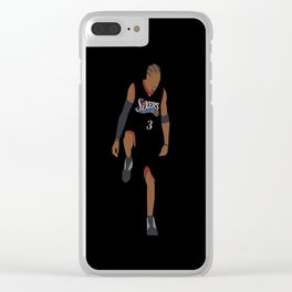 NBA Players | Allen Iverson over Lue Clear iPhone Case