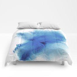 Royal Blue Blur Comforters
