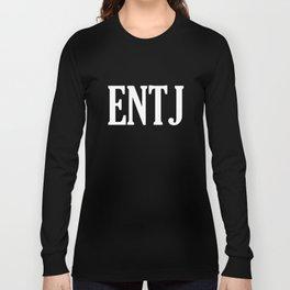 ENTJ Personality Type Long Sleeve T-shirt