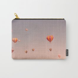 vintage hot air balloons in rio Carry-All Pouch