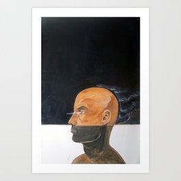 As vapor gutural Art Print