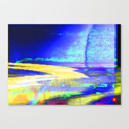 Qpop - Synthwave 2 Canvas Print
