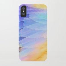 Texture plumage Slim Case iPhone X