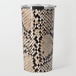 Snake skin art print Travel Mug