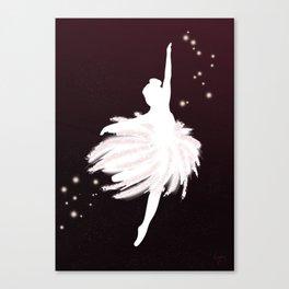 Space Ballerina (1 of 3) Canvas Print