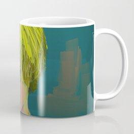 Blond Boy Crying Coffee Mug