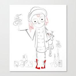 urban child Canvas Print