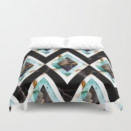 Art deco marble pattern 20s #homedecor Duvet Cover