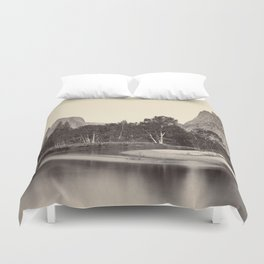 View from Camp Grove, Yosemite Duvet Cover