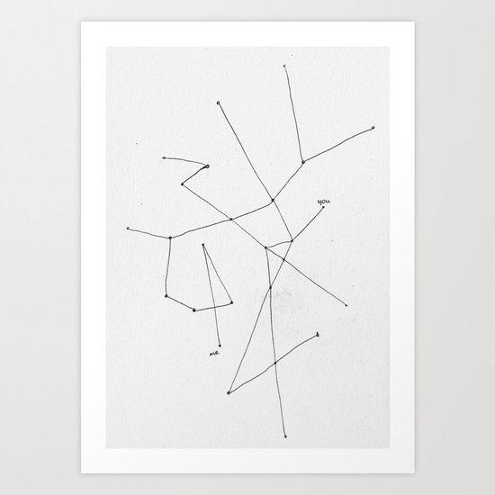 you---------me Art Print