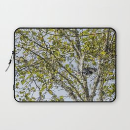 Belted Kingfisher in Flight, No. 1 Laptop Sleeve
