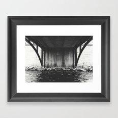 Where It Starts Framed Art Print