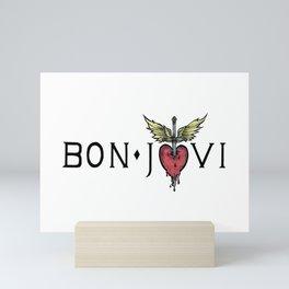 Bon Jovi Band Logo Mini Art Print
