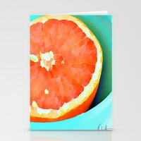 aelwen Stationery Cards featuring Grapefast by Xchange Art Studio